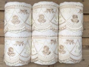 Set asciugamani in pizzo