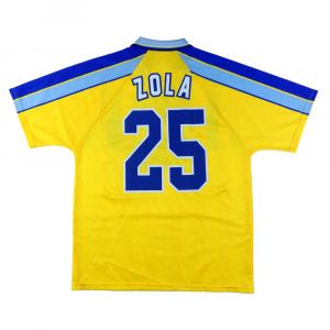 1996-97 Chelsea Maglia Away #25 Zola L (Top)