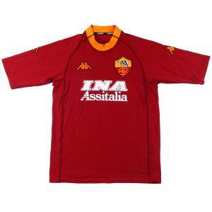 2000-01 Roma Maglia Home L (Top)