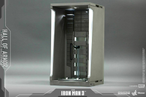 Hot Toys: Iron Man 3 Hall of Armor Set of 1 1:6 Scale Accessory