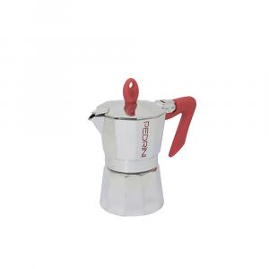 Pedrini Caffettiera Brillant Rosso 2 tazze