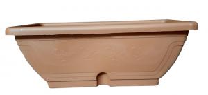 Cassetta Venezia con sottocassetta color terracotta cm.40/50/60