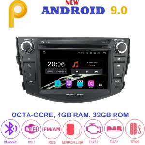 ANDROID 9.0 autoradio 2 DIN navigatore per Toyota RAV4 2006-2012 GPS DVD WI-FI Bluetooth MirrorLink