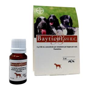 Antiparassitario Bayticol ec 6% ml.5