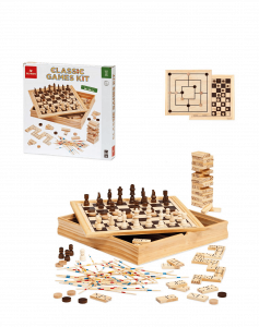 CLASSIC GAME KIT IN LEGNO DAL NEGRO