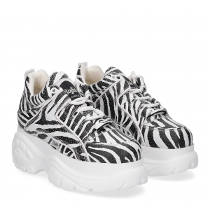 Buffalo London Sneaker 1339 Zebra
