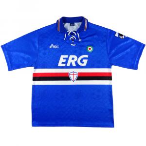 1994-95 Sampdoria  MAGLIA HOME XL (Top)
