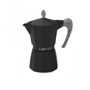 Gat Caffettiera Fashion Nero 6 Tazze