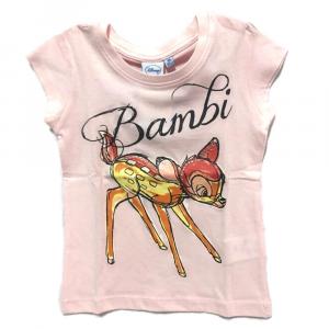 T.shirt rosa BAMBI a manica corta bambina - 4 anni