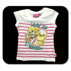 Maglietta 4 anni Barbie manica corta bambina