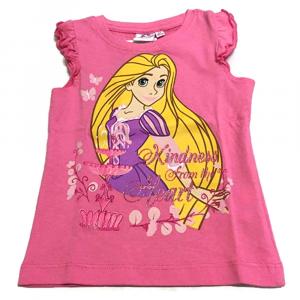 T-shirt rosa scuro PRINCIPESSA a manica corta neonata - 24 mesi