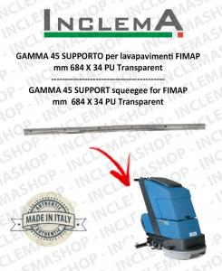 GAMMA 45 Gomma tergi SUPPORTO per lavapavimenti FIMAP