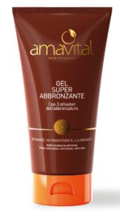Gel super abbronzante Amavial 150ml senza filtri