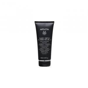 Apivita Cleansing Gel Black Detox 150ml
