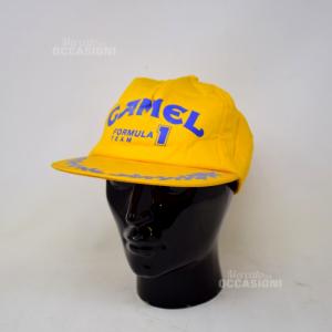Cappello Vintage Camel Giallo