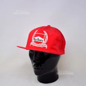 Cappello Vintage Marlboro Rosso