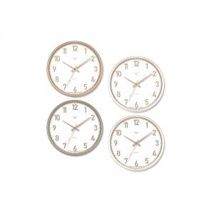 Orologio da parete Con Contorno Colorato Disponibile in 4 Versioni Tondo