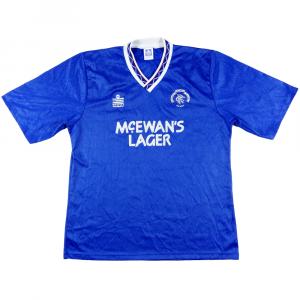 1990-92 Rangers Maglia Home XL (Top)