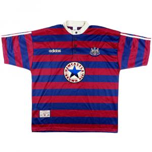 1995-96 Newcastle Maglia AWAY XL (Top)
