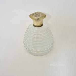 Boccetta Per Profumo Vintage In Vetro