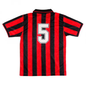1994-95 Ac Milan Maglia Match Worn/Issue #5 Costacurta XL