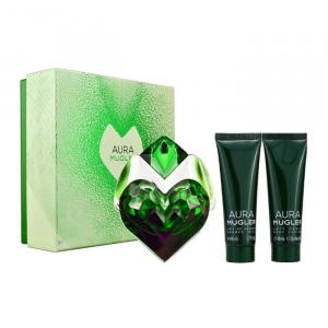 Mugler Aura Eau De Parfum Spray 30ml Set 3 Parti 2019