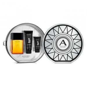 Azzaro Pour Homme Eau De Toilette Spray 100ml Set 3 Parti 2019