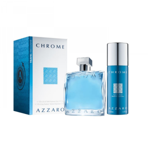 Azzaro Chrome Pour Homme Eau De Toilette Spray 100ml Set 2 Parti 2020