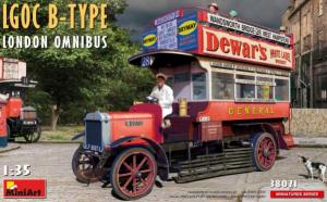 LGOC B-Type London Omnibus