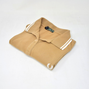 Polo Donna Marrone Fred Perry Tg
