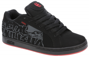Etnies Metal Mulisha Fader Black Red