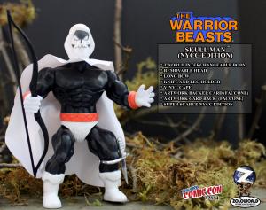 The Warrior Beasts: SKULL MAN by Zoloworld