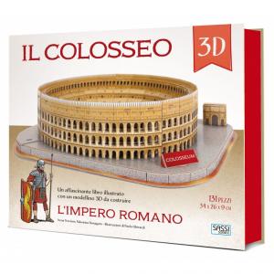 SASSI EDITORE SASSI EDITORE L'IMPERO ROMANO. COSTRUISCI IL COLOSSEO 3D