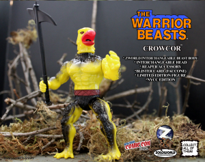 The Warrior Beasts: CROWCOR by Zoloworld