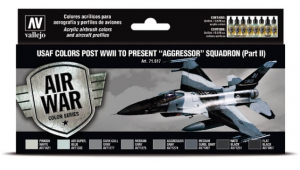 """USAF colors post WWII to present """"Aggressor"""" Squadron Part II"""