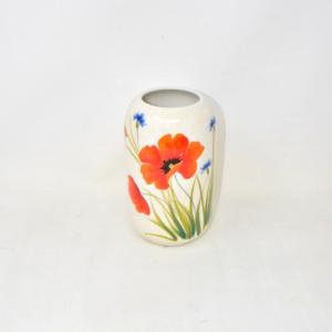 Vaso Ceramica Vicenza Papaveri