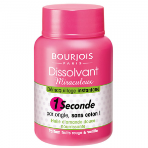 Bourjois Nail Polish Remover 1 Seconde 75ml