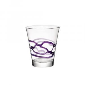 Bormioli Bicchiere Ceralacca Lui Viola 6 pezzi