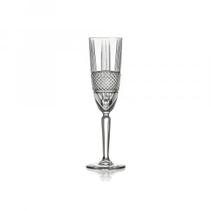 Rcr Bicchiere Calice Flute Brillante 6pezzi
