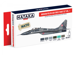Modern Polish Air Force paint set vol. 1