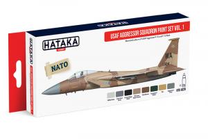 USAF Aggressor Squadron paint set vol. 1