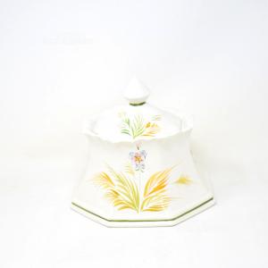 Porta Caramelle Bassano Bianco Fiore