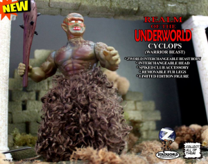 Realm of the Underworld: CYCLOPS (Warrior Beast) by Zoloworld