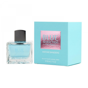 Antonio Banderas Blue Seduction Women Eau De Toilette Spray 80ml