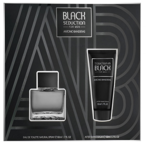 Antonio Banderas Black Seduction Men Eau De Toilette Spray 50ml Set 2 Pieces 2020