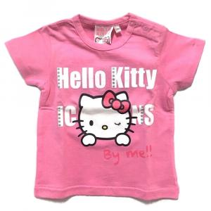 T-Shirt rosa HELLO KITTY a manica corta neonata - 12 mesi