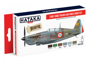 Early WW2 French Air Force paint set