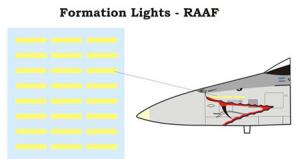 F/A-18 Hornet Formation Lights