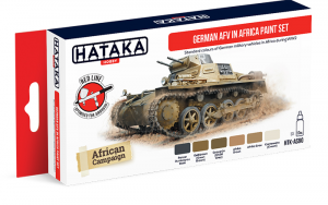 German AFV in Africa Paint set