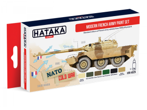 Modern French Army paint set